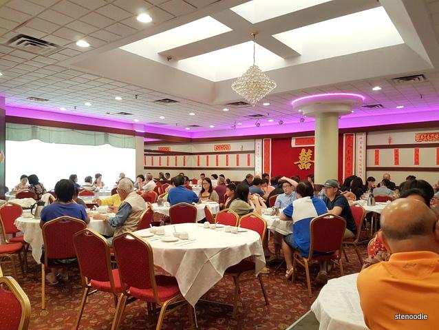 Omei Restaurant interior