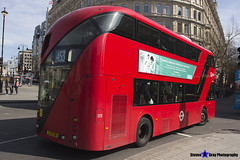 Wrightbus NRM NBFL - LTZ 1311 - LT311 - Deptford Bridge 453 - Go Ahead London - London 2017 - Steven Gray - IMG_5894