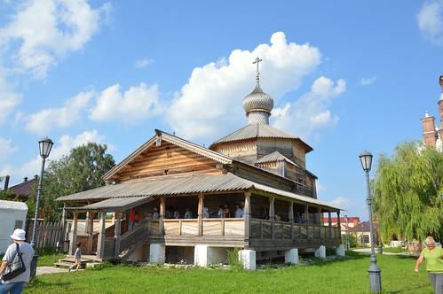 2017.07 Троицкая церковь. Древнейшая деревянная церковь на острове.
