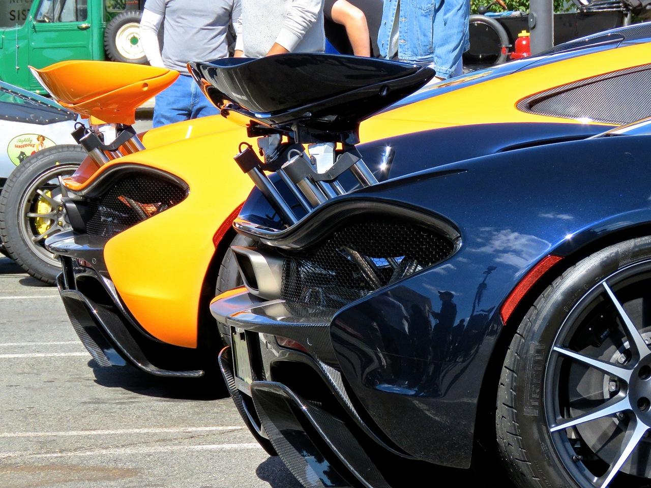 McLaren P1s at Garden State Plaza