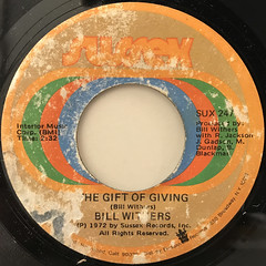 BILL WITHERS:THE GIFT OF GIVING(LABEL SIDE-A)