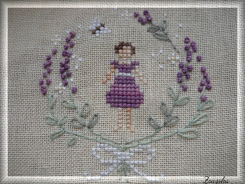 lavendergirl, cross stitch, thesnowflower diaries, francia csomó (3)