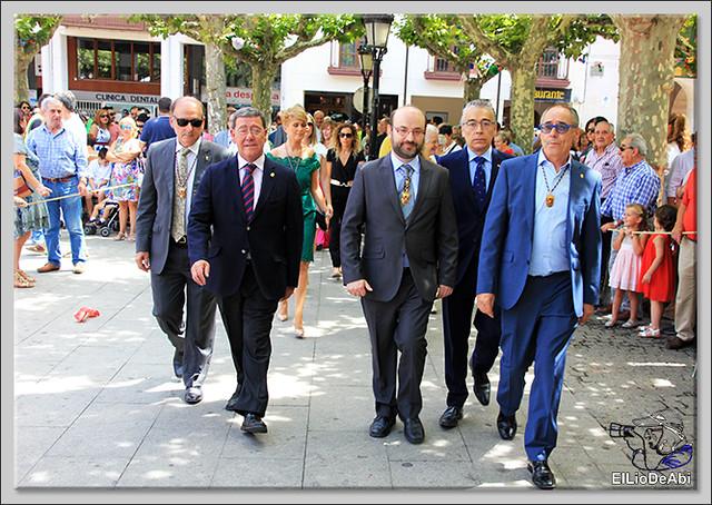 #BriviescaFiestas17 Recepción en el Ayuntamiento y canto popular del Himno a Briviesca (7)