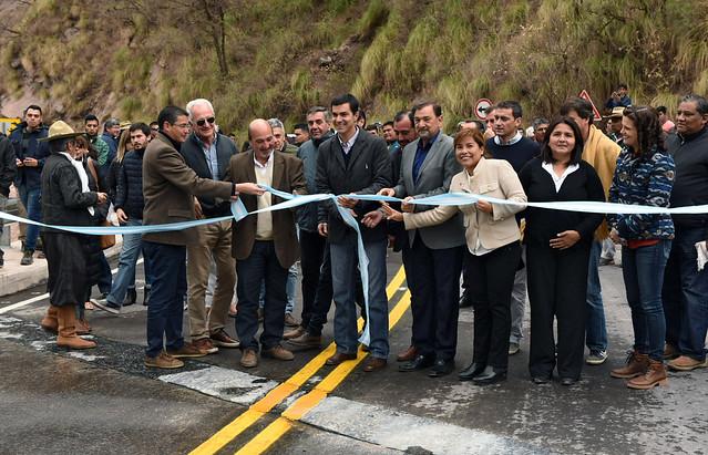 Urtubey inauguró sobre ruta 33 la primera traza escénica de la Provincia