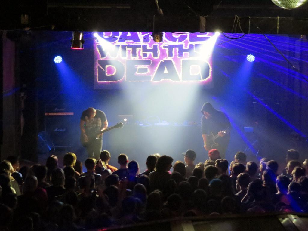 Отчет с концерта Dance With The Dead ( Санкт-Петербург)