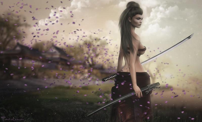 Blade of the Weeping Sakura