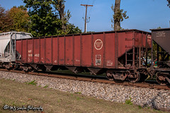 MP 589462 | Open Hopper | NS Memphis District