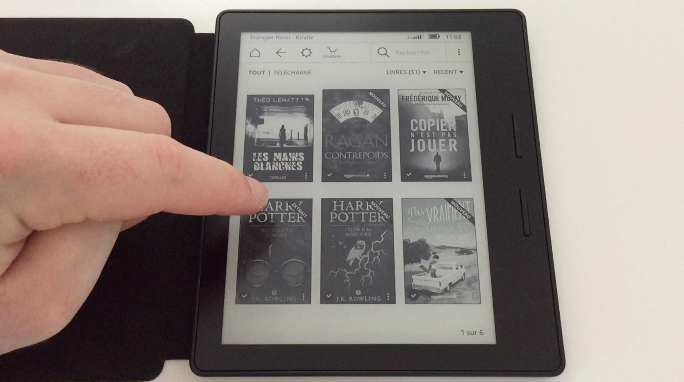20170827 Test de la liseuse électronique Kindle OASIS Amazon 18