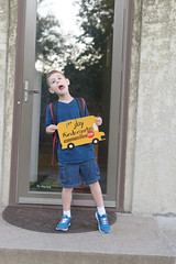 Isaac first day Kindergarten-5