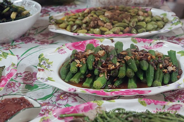 10.Iban delicacies at the Bawang Assan Longhouse Village