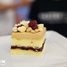 Caramelized white chocolate cake by Pastry Chef Daniel Alvarez of Union Square Café and Daily Provisions