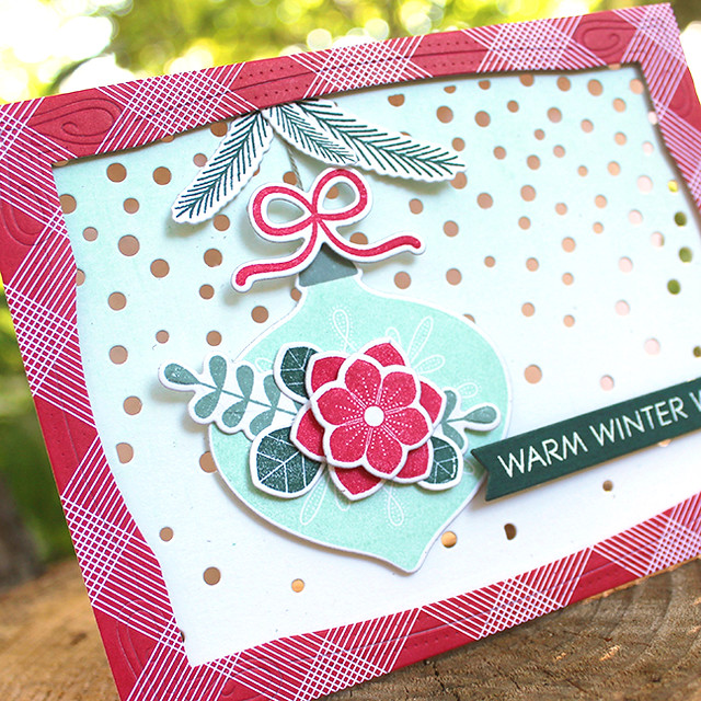 Winter Wishes Ornament Card 3