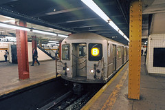 NYC Subway - R-40M 4475, 145th Street, Concourse Line