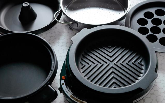 和平フレイズ Multina グリルパン グリル鍋 焼肉 すき焼き たこ焼き 蒸し器 G-3274