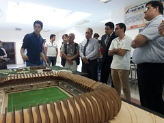 Estudiantes ULEAM Manta expusieron propuestas urbanas arquitectónicas