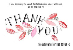 Thank you for all the faves & love <3
