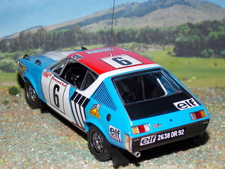 Renault 17 Gordini - Rally Marruecos 1974 - IXO