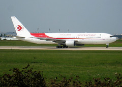 7T-VJH, Boeing 767-3D6(ER), 24767/323, Air Algérie, ORY/LFPO, 2010-09-04, taking-off roll on runway 08/26