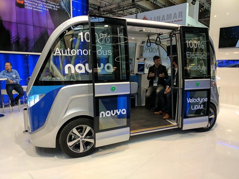 Navya Bus Concept (IAA)