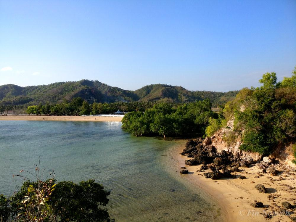 Kuta Lombok beach view