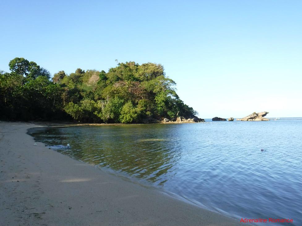 Scenic beachfront