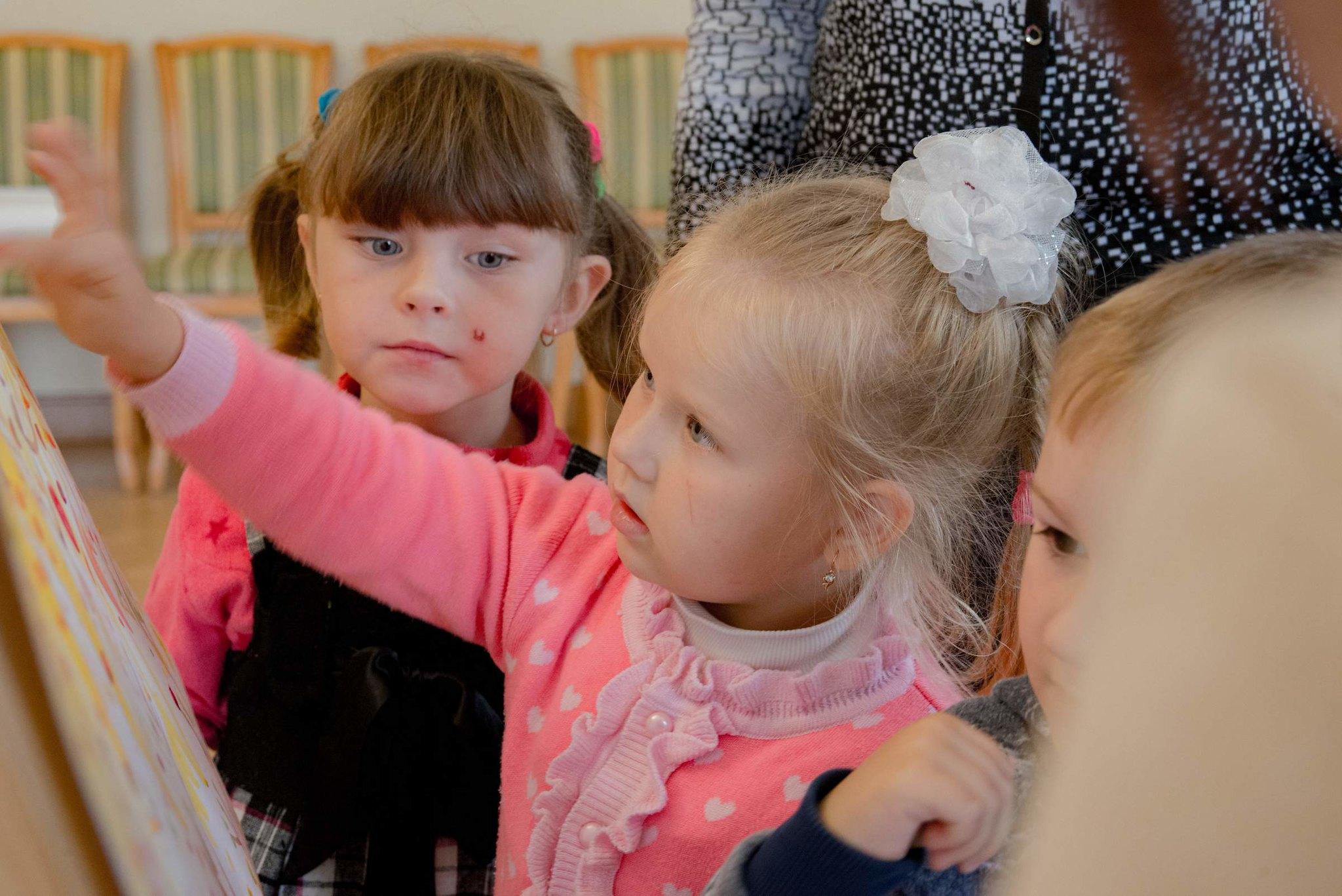 Дети в музее готовят подарок М.Ю. Лермонтову