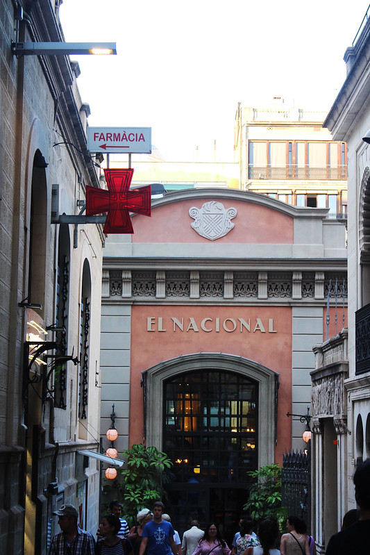 el nacional barcelona restaurant