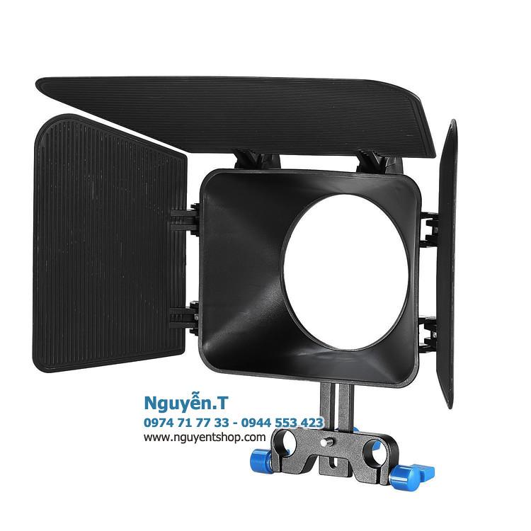 Matte box che nắng gắn Rig video size lớn 82mm