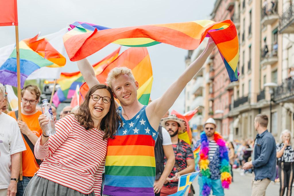 Stockholm Pride Parade 2017 - Anna Ekström