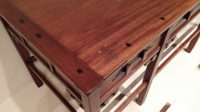Greene & Greene table with tenons