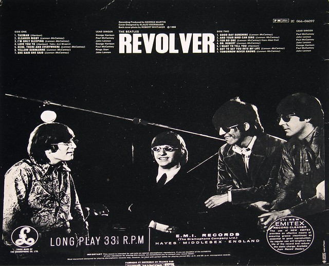 "BEATLES REVOLVER FRENCH ODEON 12"" Vinyl LP"