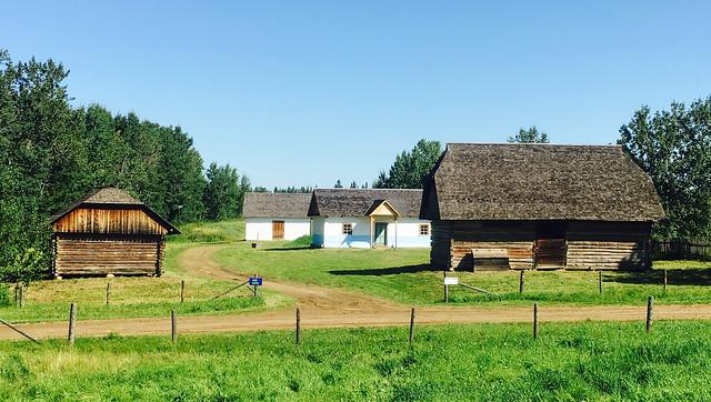 Galician Settlers Farmstead at Ukrainian Village