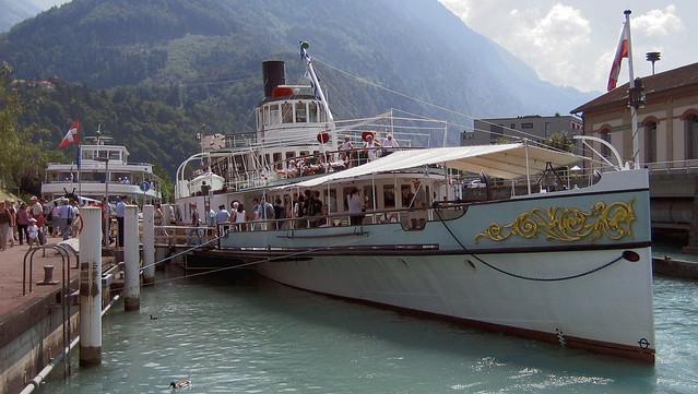 Dampfschiff Blümlisalp (Schweiz), Canon DIGITAL IXUS 65