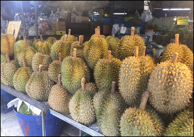 Durian at Krabi Town Market