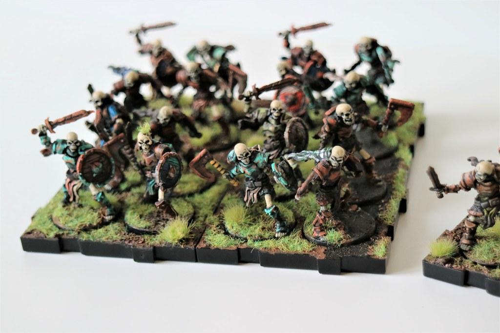 Runewars Miniatures Skeleton Infantry