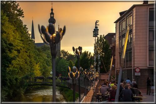 sunset sunrise romantic artistic light nikon sigma street photography aarschot aerschot vlaams brabant belgie belgium belgique