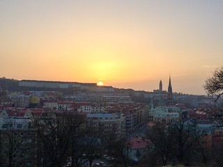 Sunset, Gothenburg