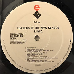 LEADERS OF THE NEW SCHOOL:T.I.M.E(LABEL SIDE-B)