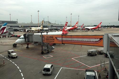 40 - Air Berlin - Airbus A320 - Flug DUS -> MUC