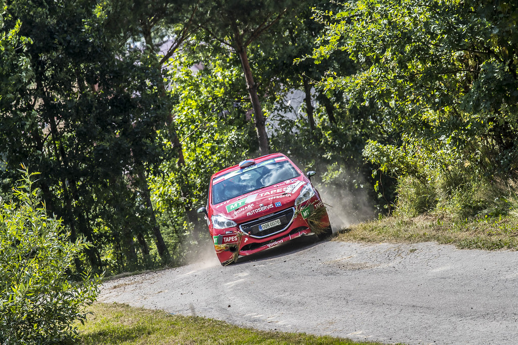 36 KUPEC Karel (CZE) KRAJCA Ondrej (CZE) Peugeot 208 R2 action during the 2017 European Rally Championship Rally Rzeszowski in Poland from August 4 to 6 - Photo Gregory Lenormand / DPPI