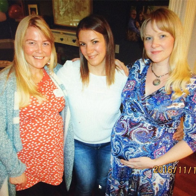 #fbf: my baby shower last November with Erika and @idahoagogo 💕(I finally looked at the pictures this morning! 😂)