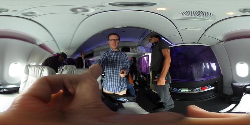 Virgin America A320 - First Class