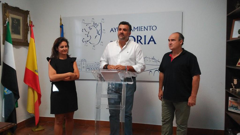 El Alcalde de Coria anuncia nuevos proyectos en la ciudad para los próximos meses
