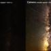 Milky way - eye vs camera by walts photos