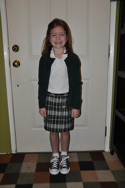 Ana First Day of 1st Grade
