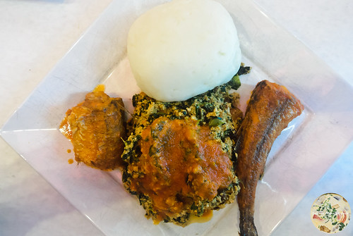 Egusi with Fish