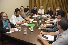 Reunião sobre a campanha de prevenção do período de chuvas