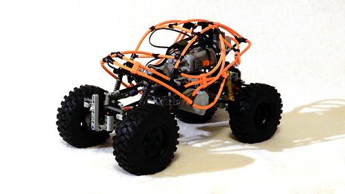 Lego Technic RC Crawler 4X4 (MOC - 4K)