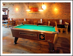 Anyone For a Game of Pool in the Tap Room?