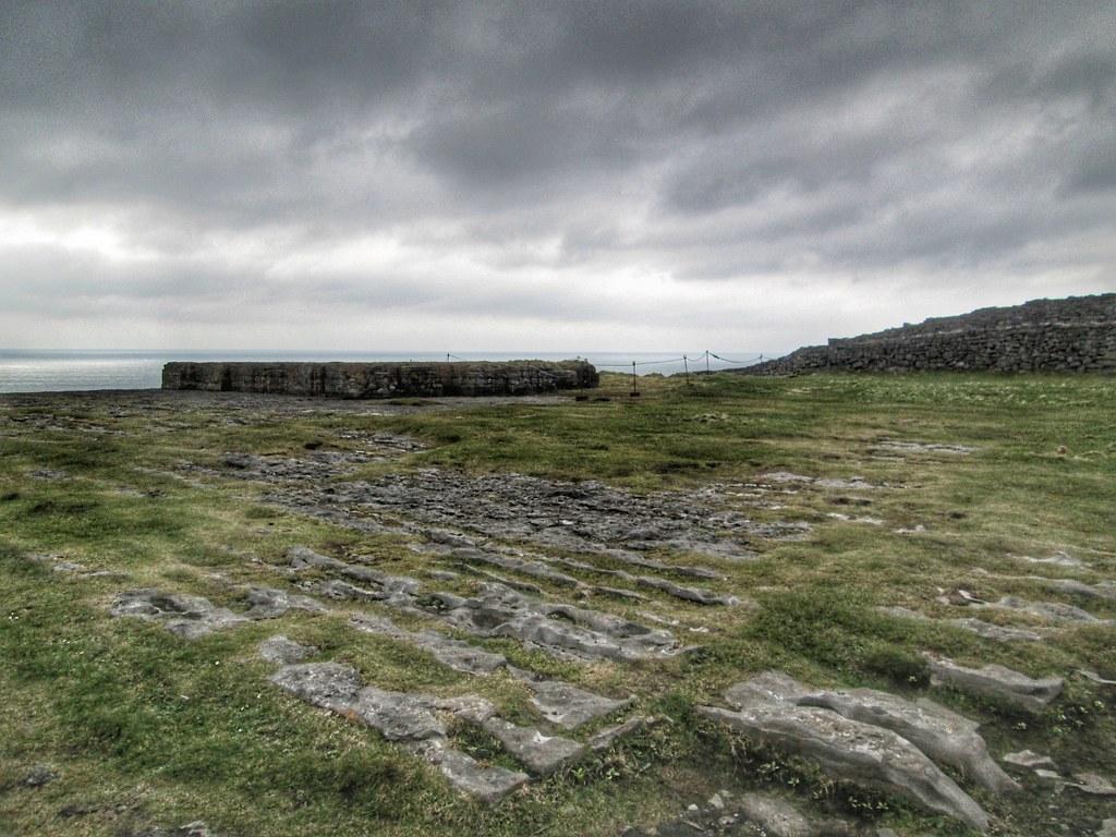 Aran Islands Inis Mor Dun Aonghasa Flat